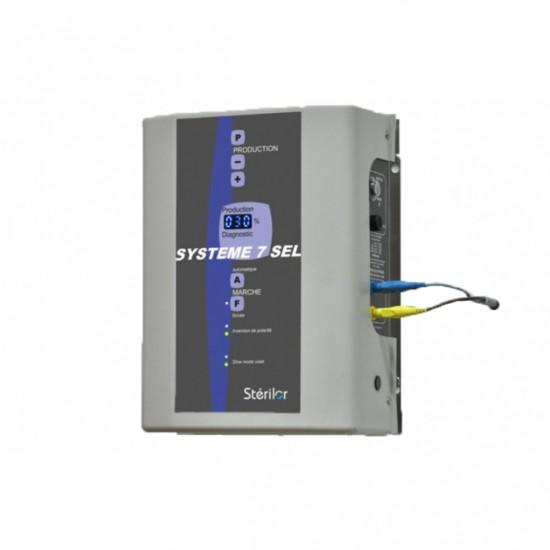 Electrolyseur de sel  60 Stérilor Système 7 EVO 2019 - Pour bassin de 40 à 60 m3