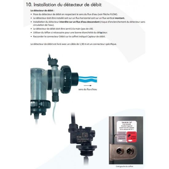 Détecteur de débit Stérilor EVO ou EVO+