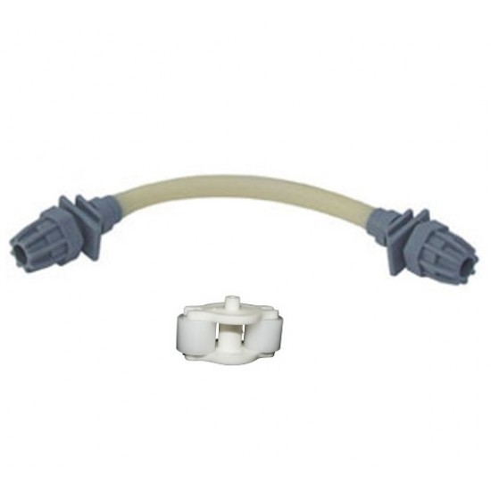 Kit d'entretien annuel pompe pH : porte-galet et flexible santoprène