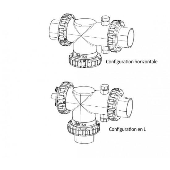 Vase complet simple Stérilor SEL (vide) EVO / XP (nouveau modèle > 2019)