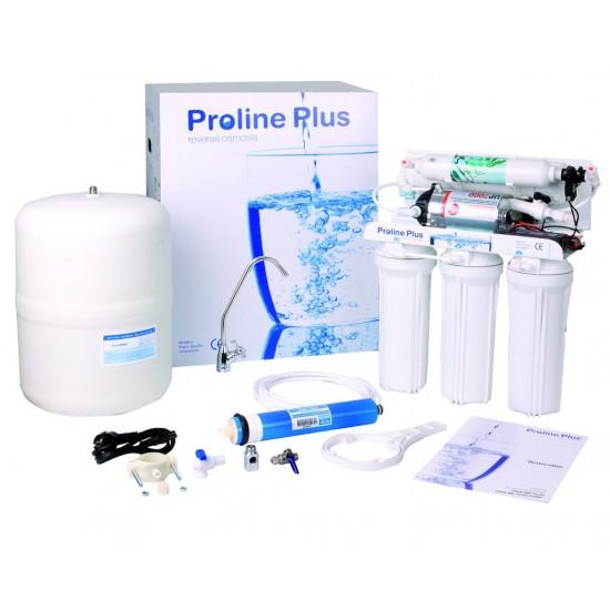 Osmoseur domestique 5 étapes Proline avec pompe et lampe UV