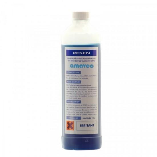 Nettoyant et Désinfectant résines adoucisseur Resen (1 litre)