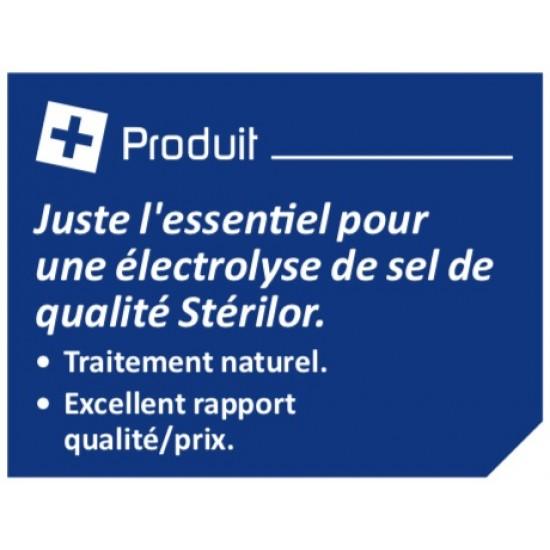 Électrolyseur de sel 80 Stérilor Système 7 - 2019 - Pour bassin de 60 à 80 m3