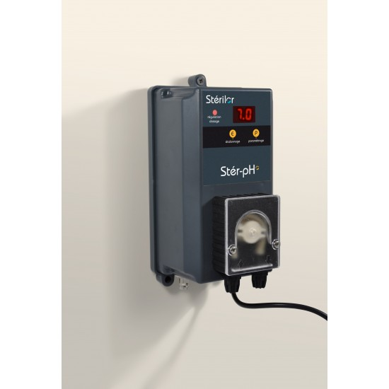 Stér-pH : analyseur / régulateur / doseur / correcteur pH -