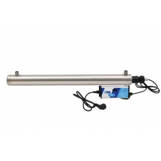 """Stérilisateur UV1 domestique 3/4"""" Orion 2m3/h 30W sans capteur luminosité"""