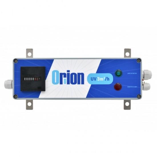 """Stérilisateur UV1 domestique 3/4"""" Orion 3m3/h 55W avec capteur luminosité"""